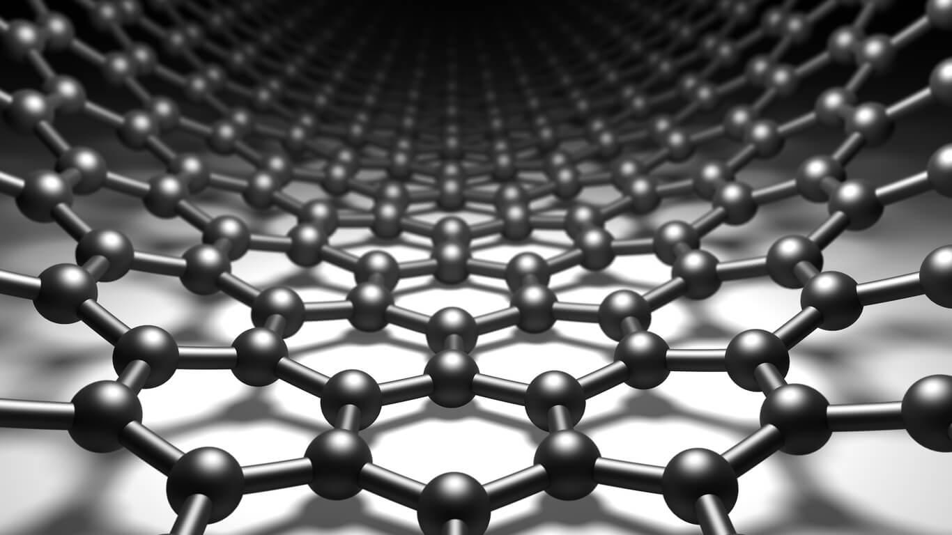 graphene-hexagonal-molecular-structure-background